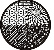 Nail Art Stamp Stamping Image Template Plate hehe Series NO.3