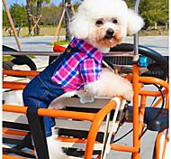 Собаки Костюмы Комбинезоны Зеленый Розоватый Одежда для собак Зима Весна/осень Джинсы Косплей На каждый день