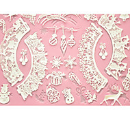 baratos -quatro c molde do bolo mat esteira do cozimento do bolo rendas silicone para decoração, silicone mat fondant ferramentas bolo cor-de-rosa