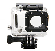 Case/Bags Waterproof Housing Case Waterproof For Action Camera Gopro 4 Gopro 3 Gopro 3+ Snowmobiling Hunting and Fishing Wakeboarding