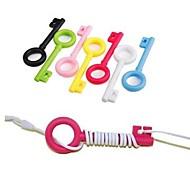 Недорогие -Пластик - Гаджеты для намотки кабеля - Милый стиль/Деловые/Многофункциональные