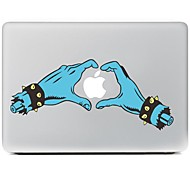 tanto en el diseño manos adhesivo decorativo para macbook air / pro / pro con pantalla de retina