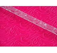 Недорогие -FOUR-C украшения печенья инструменты акриловая скалка для торта искусство цвет прозрачный, 1шт
