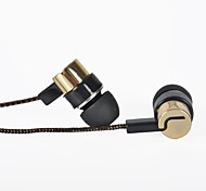 Headphone Music 3.5mm In-Ear Clear Bass Earphone with Mic for Samsung S6 S5 S4