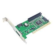 3 Port SATA & IDE PCI Controller RAID Card Adapter VIA6421 Chipset for Hard Disk Drive & Server