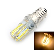 E14 LED Corn Lights T 64 SMD 3014 500-600 lm Warm White 3000 K AC 220-240 V