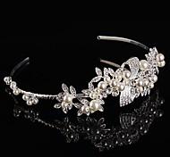Bridal Baroque Crown Silver Tiara Queen Crystal Hairclips Elegant Style