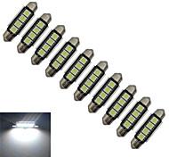 Festoon Decoration Light 4 SMD 5050 80-90lm Cold White 6000-6500K DC 12V