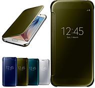 тренажерный зал роскошь зеркало окно полное тело чехол для Samsung Galaxy S6 g9200