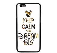 сохранить спокойствие и мечтать большой дизайн ПК жесткий футляр для iphone 6 iphone случаях