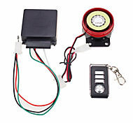 cheap -Motorbike Anti-theft Security Alarm System Remote Control Engine Start 12V