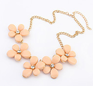 Women's Choker Necklaces Resin Alloy Fashion European Costume Jewelry Jewelry For Casual