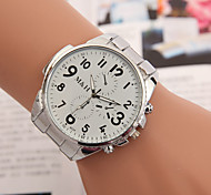 cheap -yoonheel Women's Quartz Wrist Watch Casual Watch Metal Band Charm Fashion Silver