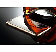 задняя крышка алюминиевый корпус роскошь металлический каркас зеркало для Apple Iphone 6 плюс