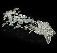 Alloy / Cubic Zirconia Hair Combs Wedding / Party 1pc