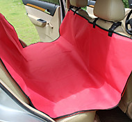 Dog Car Seat Cover Pet Mats & Pads Solid Waterproof Portable Foldable Black Gray Coffee Red Blue