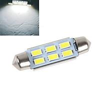 Недорогие -200-250 lm Декоративное освещение 6 светодиоды SMD 5630 Декоративная Холодный белый DC 12V