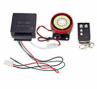 Motorbike Anti-theft Security Alarm System Remote Control Engine Start 12V Black