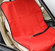 Недорогие -Собака Чехол для сидения автомобиля Животные Коврики и подушки Твердый Водонепроницаемость Складной Серый Кофейный