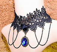 Women's Choker Necklaces Statement Necklaces Alloy Fashion Bridal Screen Color JewelryParty Special Occasion Birthday Congratulations
