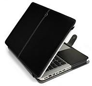 Недорогие -Apple MacBook Pro 13,3-дюймовом корпусе, ПУ Кожаный чехол случае стенд для Apple MacBook Pro 13,3 '' (разные цвета)