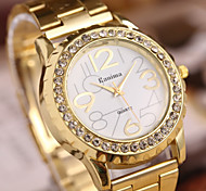 cheap -Women's Fashion Diamond Marble Mirror Quartz Analog Steel Belt Bracelet Watch Cool Watches Unique Watches Strap Watch