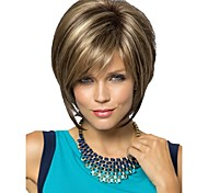 cheap -Synthetic Wig Straight Pixie Cut Blonde Women's Capless Carnival Wig Halloween Wig Short Synthetic Hair