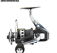 SHISHAMO Full Metal Body 4.7:1, 12+1 Ball Bearings with One Way Clutch Spinning Reel, Left & Right Hand Exchangble