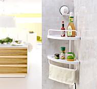 cheap -Bathroom Shelf High Quality Contemporary Plastic 1 pc - Hotel bath Wall Mounted