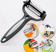 Недорогие -4 в 1 из нержавеющей стали растительное нож резак фруктов ломтерезки циклон нож (случайный цвет)