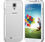 Недорогие -Для Кейс для  Samsung Galaxy Защита от удара Кейс для Задняя крышка Кейс для Один цвет PC Samsung S4