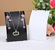 cheap -Women's Jewelry Displays Transparent Black White Resin Fashion Daily