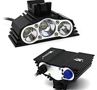 Недорогие -Налобные фонари Наборы фонариков Светодиодные лампы LED 7500 Люмен 4.0 Режим XM-L2 T6 Нет Водонепроницаемый для Походы/туризм/спелеология