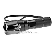 A100 LED Flashlights / Torch Handheld Flashlights/Torch LED 1200 lm 5 Mode Cree XM-L T6 Adjustable Focus Zoomable for