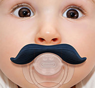 cheap -Silicone Infant Baby Kid Pacifier Nipples Mustache Beard