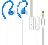 JTX-y01 3.5mm antibruit de haute qualité micro dans l'oreille des écouteurs pour iPhone et autres téléphones