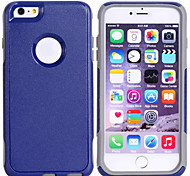 Super Protection TPU+PC 2in1 Combo Shell Protective Sleeve for iPhone 6 Plus  (Assorted Color)