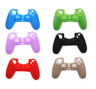 Silikon schützende Haut für PS4-Game-Controller (farbig sortiert)