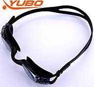 Недорогие -Yobo плавательные очки унисекс светло-серый анти-туман / водонепроницаемый / регулируемый размер / анти-УФ / анти-скольжения ремень шт