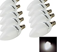 E14 LED Candle Lights 10 SMD 2835 200 lm Warm White Cold White 3000/6000 K Decorative AC 220-240 V