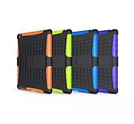 baratos -Caso para ipad mini 4 / 3/2/1 ipad 4/3/2 ipad ar 2 ipad air shockproof com stand back capa armadura pc para ipad (2017) pro 9.7 pro 10.5