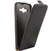 Genuine Leather Vertical Flip Magnetic Button Case for Samsung Galaxy J5