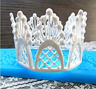 pizzo fiore strumenti fondente a forma di silicone torta al cioccolato muffa / decorazione per la cucina