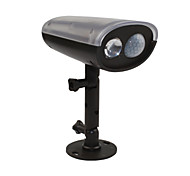 cheap -Solar Power LED Spotlight Montion Sensor Activated Security Wall Flood Path Garden Lamp Led Light Waterproof