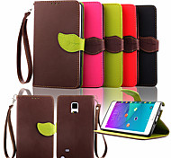 Wallet Card Holder PU Leather Flip Case Cover for Samsung Galaxy Note 4/Note 3/Note 2/Note Edge