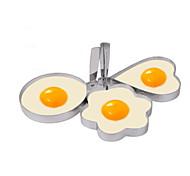 cheap -Plastic Creative Kitchen Gadget Egg DIY Mold