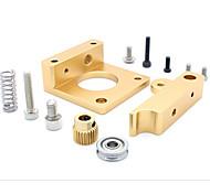 economico -MK8 estrusore blocco blocco di alluminio estruso makerbot testata in alluminio per stampante 3D