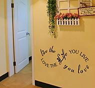 Недорогие -стены стикеры стены наклейки стиль жизни английских слов&цитирует наклейки ПВХ стены