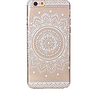 Mandala Flower Pattern Ultrathin Hard Back Cover Case for iPhone 6s 6 Plus