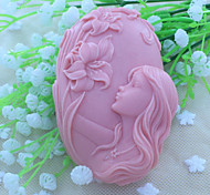 Недорогие -красивая фея мыло плесень помады торт шоколадный силиконовые формы, отделочные инструменты посуда